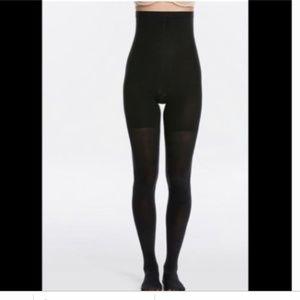NIB SPANX High Waisted Tights Black Size A